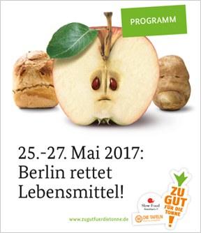 Zu gut für die Tonne: Berlin rettet Lebensmittel auf dem Evangelischen Kirchentag