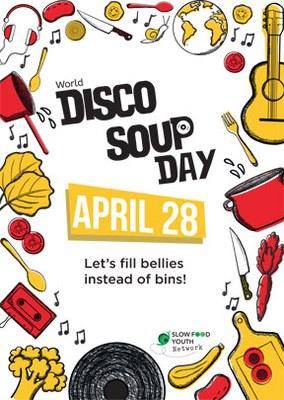 World Disco Soup Day 2018: Slow Food Youth bietet Lebensmittelverschwendung die Stirn