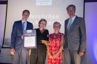 18. Lammsbräu-Nachhaltigkeitspreis: Dr. Anita Idel für herausragendes Engagement im Bereich ökologische Landwirtschaft ausgezeichnet