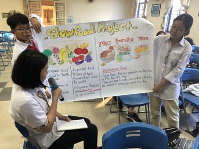 Bildungsprojekt Edible Connections: Kulinarischer Austausch Berlin-Hanoi