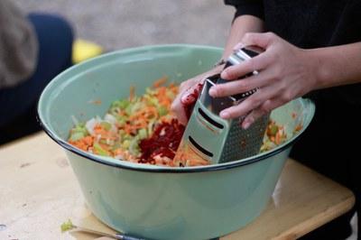 Chef Alliance: Köchin Katharina Bäcker überzeugt ihre Gäste auch ohne Fleisch