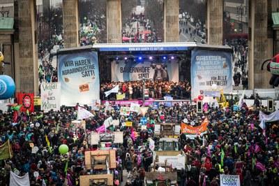 Demonstration: Agrarwende anpacken, Klima schützen!