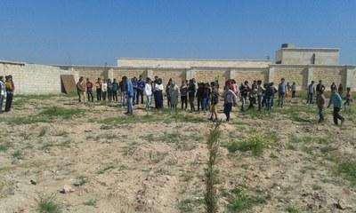 Krieg in Syrien: Solidarität mit den betroffenen Bevölkerungsgruppen