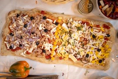 Rezept-Tipps aus dem Netzwerk: Italienische Rezepte für Pizzateig und Pizzasauce von Chef Alliance Koch Marcello Gallotti