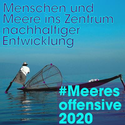 Meeresoffensive 2020: Weichen stellen für Mensch und Meer