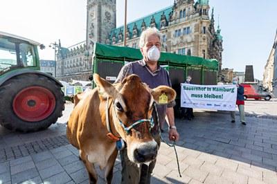 Neues Bündnis fordert: Bauernhof in Hamburg muss bleiben