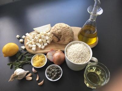 Rezept-Tipps: Sellerierisotto und Löwenzahnsalat