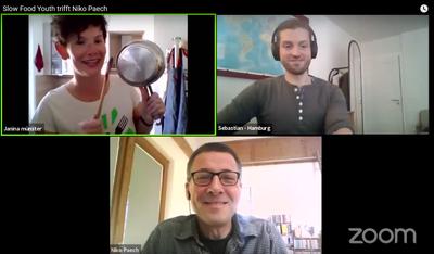 Slow Food Youth: Rund 70 Teilnehmer*innen kamen bei Netzwerktreffen online zusammen