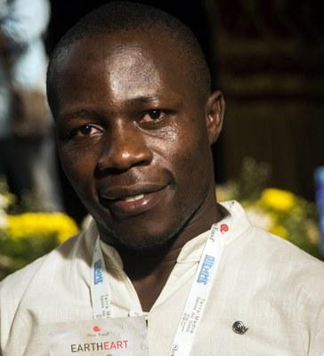 Ein Gruß von Edie Mukiibi, Vize-Präsident von Slow Food