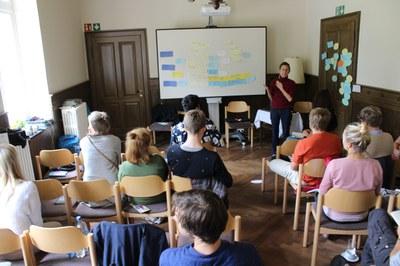 Anke Kähler berichtet über das Handwerk (c) Slow Food.JPG