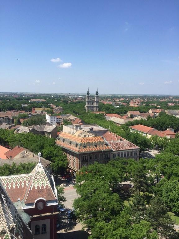 Ausblick vom Rathausturm auf Subotica (c) Mariusz Rybak.jpg