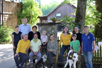 Team des Völkleswaldhofs