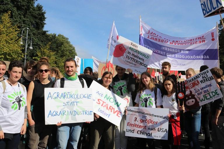 Klimastreik September 2019 Berlin: SFD SFYD