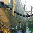 Fischernetz - Slow Thema Fischerei