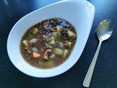 Linsensuppe (c) Catherine Winter