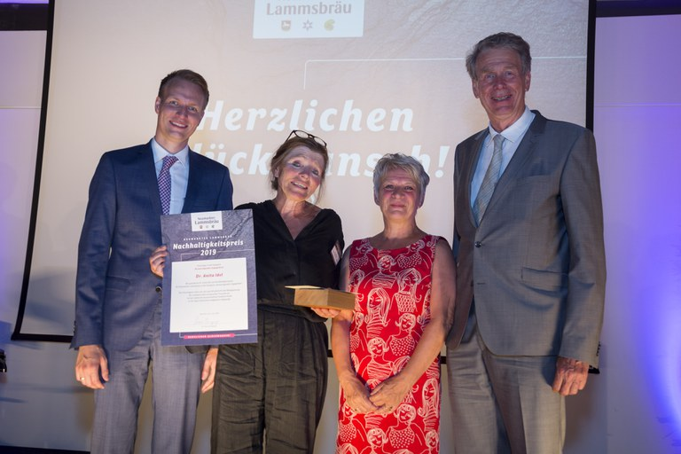 Dr. Anita Idel - Preisträgerin Herausragendes Engagement ©  Neumarkter Lammsbräu