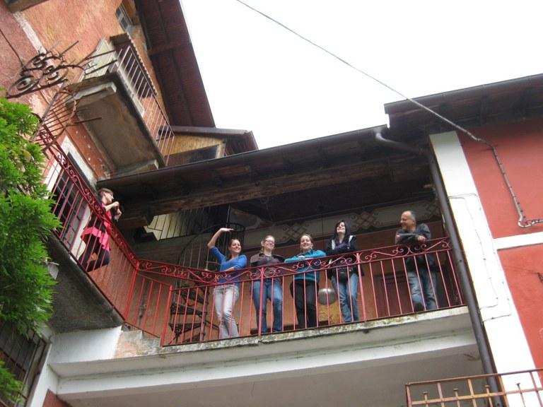 Was aus so einer Exkursion an den Lago Maggiore so alles entstehen kann, hätte sich wohl keiner der Teilnehmer*innen träumen lassen (c) Eva-Maria Endres.JPG